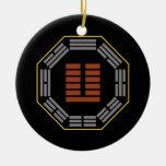 "I Hexagram 24 Fu de Ching ""que vuelve "" Adorno De Navidad"