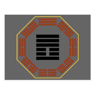 """I Hexagram 25 Wu Wang """"inocencia """" de Ching Postales"""