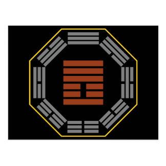 """I Hexagram 25 Wu Wang """"inocencia """" de Ching Postal"""