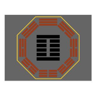 "I Hexagram 27 I ""alimento "" de Ching Tarjeta Postal"