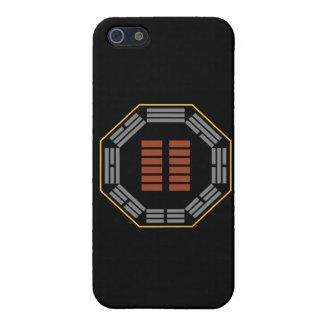 """I Hexagram 2 K'un de Ching """"el receptivos """" iPhone 5 Carcasas"""