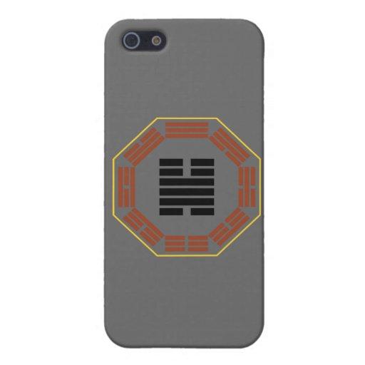 "I Hexagram 32 Heng de Ching ""que persevera "" iPhone 5 Protectores"