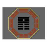 "I Hexagram 35 Chin ""progreso "" de Ching Postal"