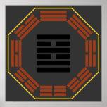 """I Hexagram 38 K'uei """"oposición """" de Ching Póster"""