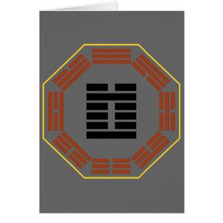 """I Hexagram 3 Chun """"dificultad """" de Ching Tarjeta De Felicitación"""