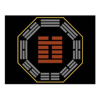"I Hexagram 3 Chun ""dificultad "" de Ching Postal"