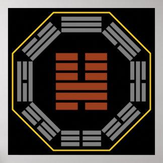 """I Hexagram 46 Sheng de Ching """"que asciende """" Impresiones"""
