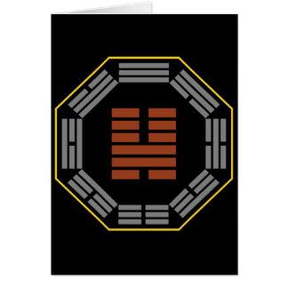 """I Hexagram 46 Sheng de Ching """"que asciende """" Tarjeta De Felicitación"""