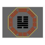 "I Hexagram 46 Sheng de Ching ""que asciende "" Tarjeta Postal"