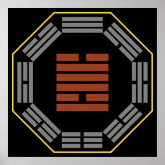 """I Hexagram 49 Ko """"revolución """" de Ching Poster"""