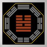 "I Hexagram 54 Kuei Mei de Ching ""la doncella que s Póster"