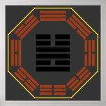 "I Hexagram 55 Feng ""abundancia "" de Ching Poster"