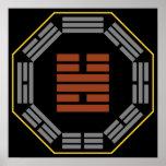 """I Hexagram 55 Feng """"abundancia """" de Ching Posters"""