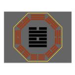 """I Hexagram 58 Tui """"alegría """" de Ching Tarjetas Postales"""