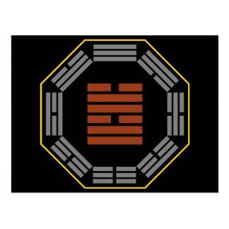 """I Hexagram 58 Tui """"alegría """" de Ching Postales"""