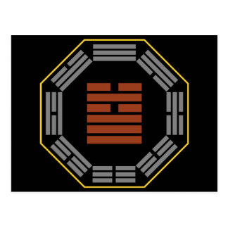 "I Hexagram 5 Hsu de Ching ""que espera "" Postales"
