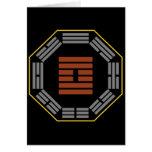 "I Hexagram 61 Chungkin Fu ""verdad interna "" de Chi Tarjeta"