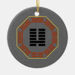 "I Hexagram 7 Shih de Ching ""un ejército "" Ornamentos De Navidad"