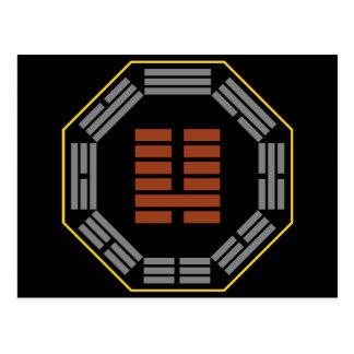 """I Hexagram 7 Shih de Ching """"un ejército """" Tarjeta Postal"""
