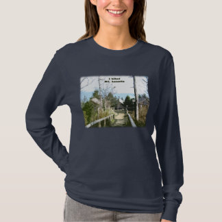 I hiked Mt LeConte / Photo Art T-Shirt