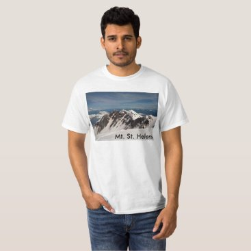 malhcreations I hiked Mt St Helens T-Shirt