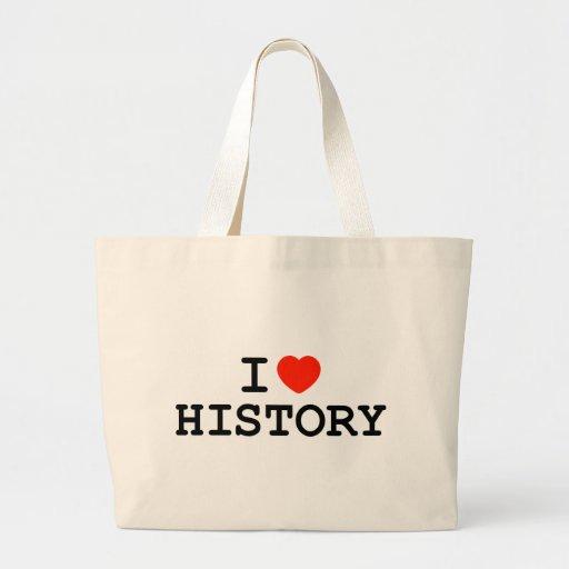 I historia del corazón bolsas