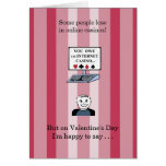 I Hit the Jackpot When I Met You - Valentine Card
