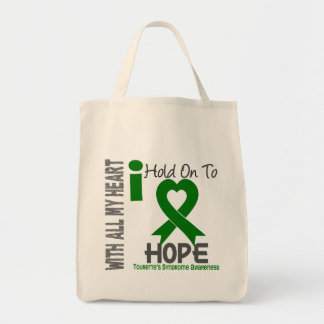 I Hold On To Hope Tourette's Syndrome Tote Bags