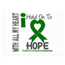 I Hold On To Hope Tourette's Syndrome Postcard