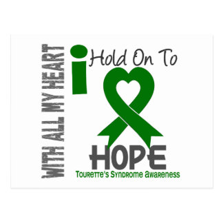 I Hold On To Hope Tourette's Syndrome Postcard
