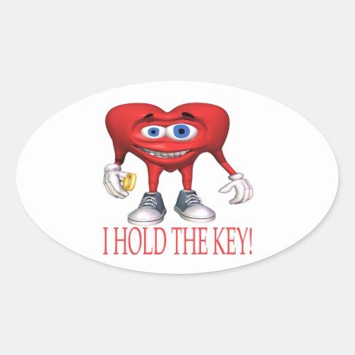 I Hold The Key Sticker
