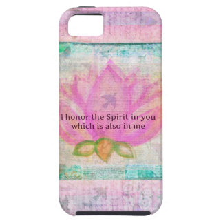I honor the Spirit in you which is also in me iPhone SE/5/5s Case