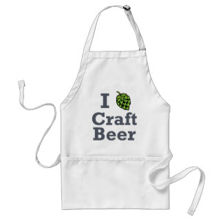 I [hop] Craft Beer Adult Apron