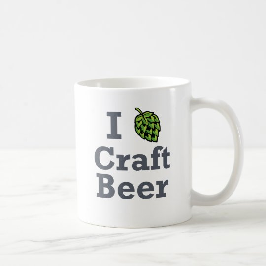 I [hop] Craft Beer Coffee Mug