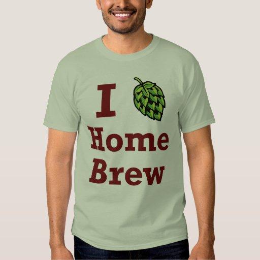 I [hop] Home Brew Shirt
