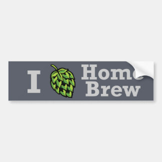 I [hop] Home Brew Sticker