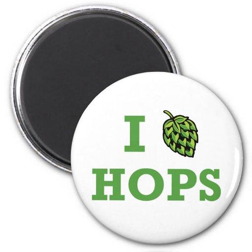 I [hop] Hops Magnet