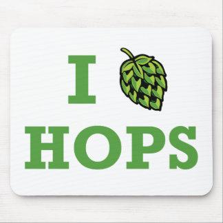 I [hop] Hops Mousepad