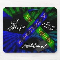 I Hope For A Cure Ribbon Mousepad