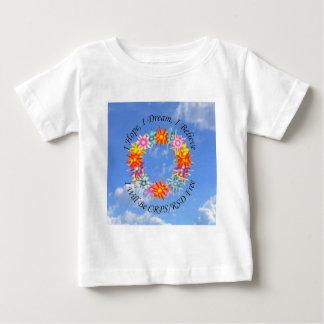 I Hope I Dream I Believe I will be CRPS RSD FREE F Baby T-Shirt