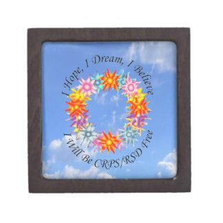 I Hope I Dream I Believe I will be CRPS RSD FREE F Jewelry Box