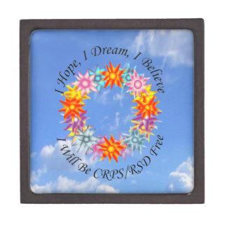 I Hope I Dream I Believe I will be CRPS RSD FREE Jewelry Box