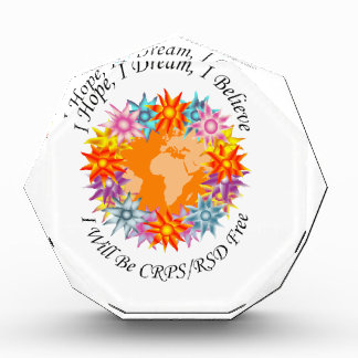 I Hope I Dream I Believe I will be CRPS RSD FREE O Award