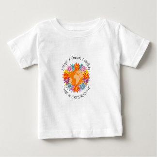 I Hope I Dream I Believe I will be CRPS RSD FREE O Baby T-Shirt
