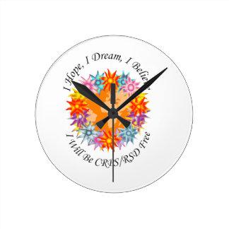 I Hope I Dream I Believe I will be CRPS RSD FREE O Round Clock