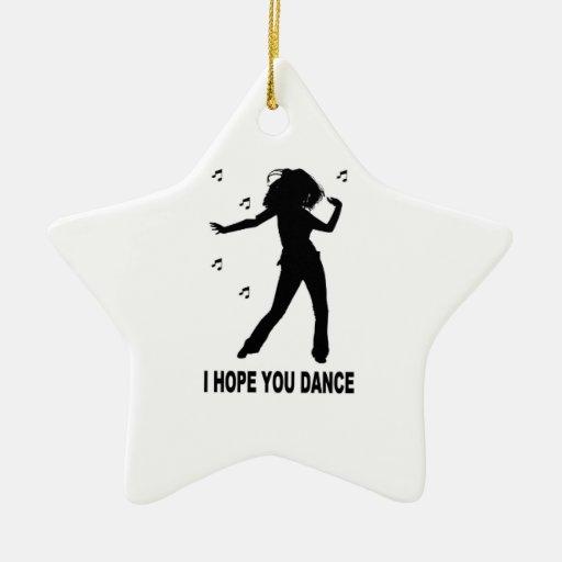 I Hope You Dance Christmas Tree Ornament