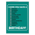 I Hope You Have A... Birthday Cards