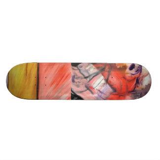 i hope you used your teeth skateboard deck