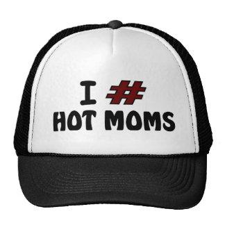 I # Hot Moms Trucker Hat