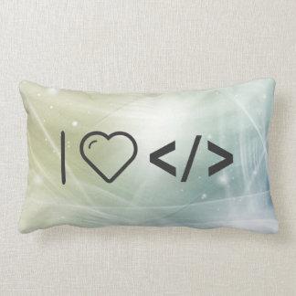 I HTML-Etiquetas del corazón Almohadas